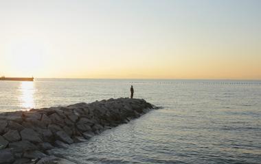 美浜の風景
