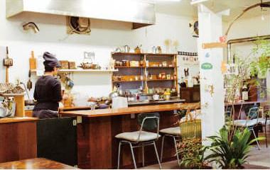自家焙煎コバレレコーヒー店内
