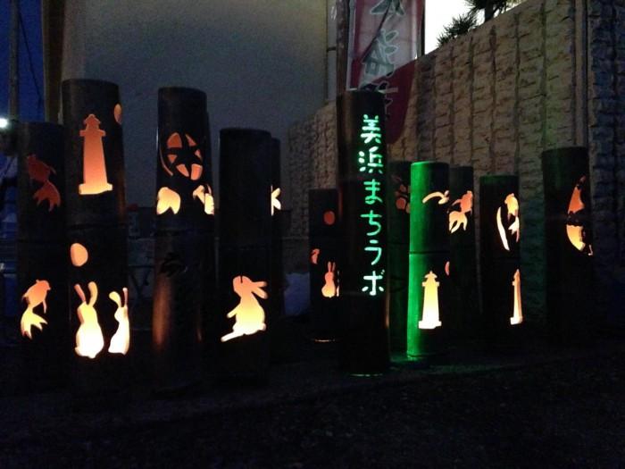 みはまの竹灯籠